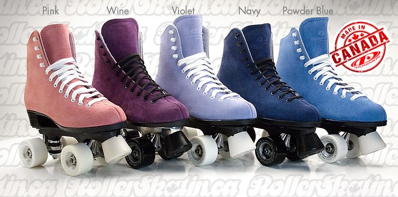 Soft & Sassy Rink Roller Skates - LAST Pair Ladies 7 Pink!