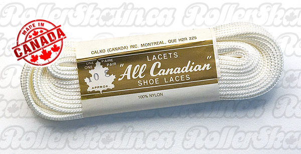 All Canadian Nylon Skate Laces 84